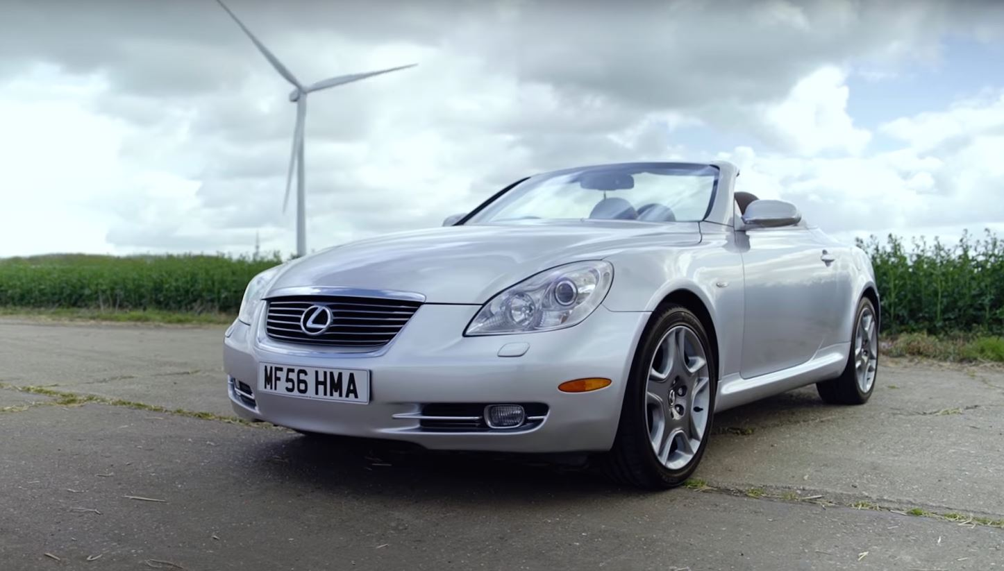 Car Throttle Says Top Gear Is Full Of It The Lexus Sc430