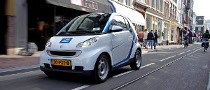 car2go Turns Electric in Amsterdam