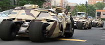 Caravan of Three Tumbler Batmobiles Spotted in Pittsburgh [Video]