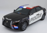 A police car built by police for the police