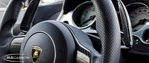 "Carbon Fiber ""Horns"": Gallardo Shift Paddle Extensions"