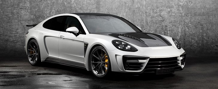 Carbon Fiber Kit for 2017 Panamera Turbo Presented by