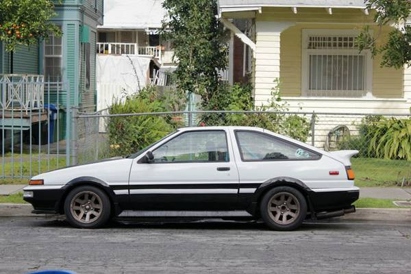 Cared After 1985 Toyota Corolla Trueno Ae 86 For Sale