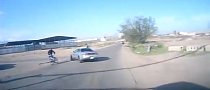 Careless Driver Hits a Cyclist in Russia [Video]