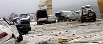 Cargo Ship Loses 52 Cars During Storm [Video]