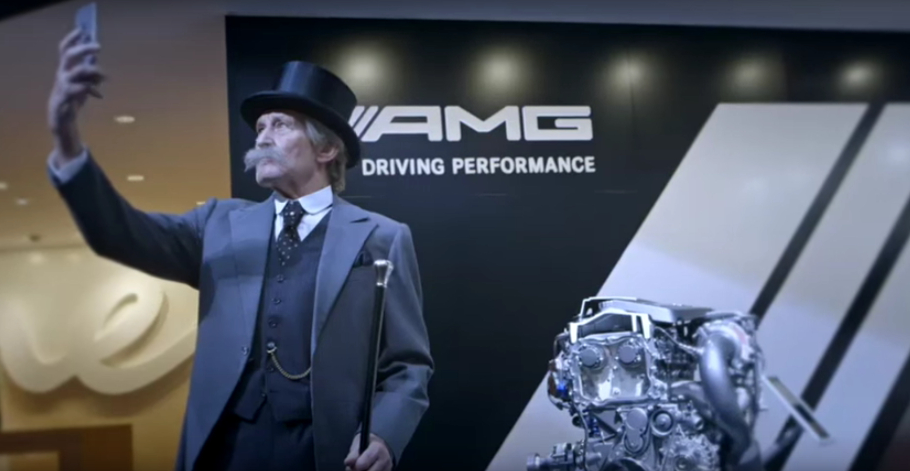 Karl Benz: Carl Benz Is Resurrected To Demonstrate That Germans Have