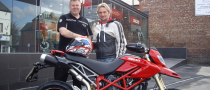 Carl Fogarty Gets a Ducati Hypermotard S for Personal Use