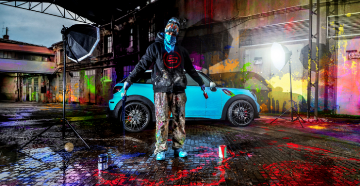 Carlex Design Finally Reveals the MINI Paceman Painter Works [Photo Gallery]