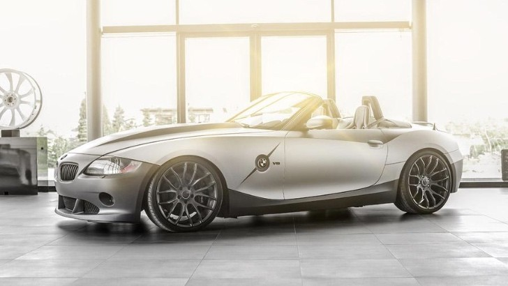 Carlex Design Pimps Out A Bmw Z4 Adds Bmw M3 V8 Engine