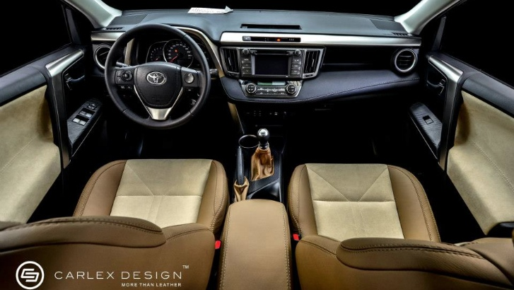 Carlex Design Reveals Custome Leather Interior For 2013 Toyota Rav4 Autoevolution