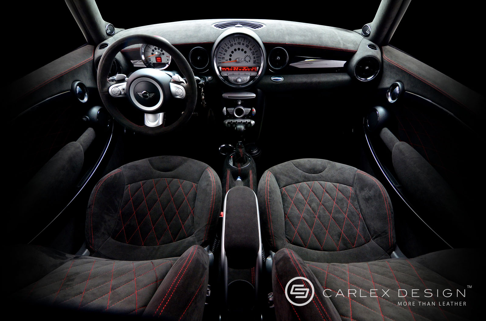 Carlex design 39 s mini cooper s custom interior autoevolution for Mini cooper s interieur