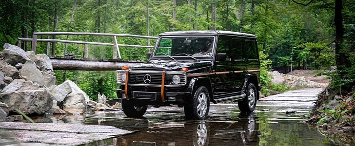Carlex Touches Mercedes G Class More Leather Equals
