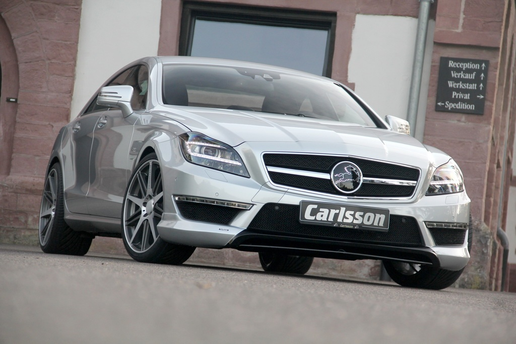 carlsson ck63 rs mercedes cls 63 amg revealed autoevolution