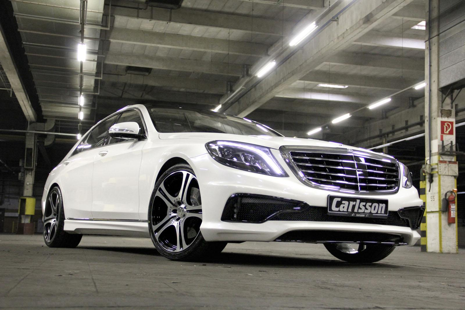 Carlsson injects some muscle into the w222 s class for Mercedes benz carlsson