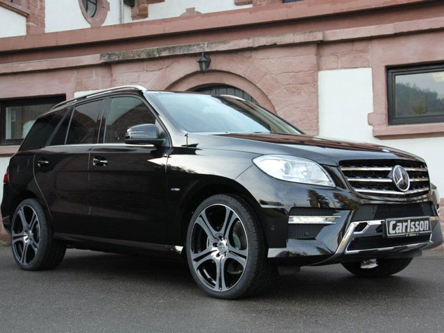 carlsson tunes 2012 mercedes ml 350 bluetec autoevolution. Black Bedroom Furniture Sets. Home Design Ideas