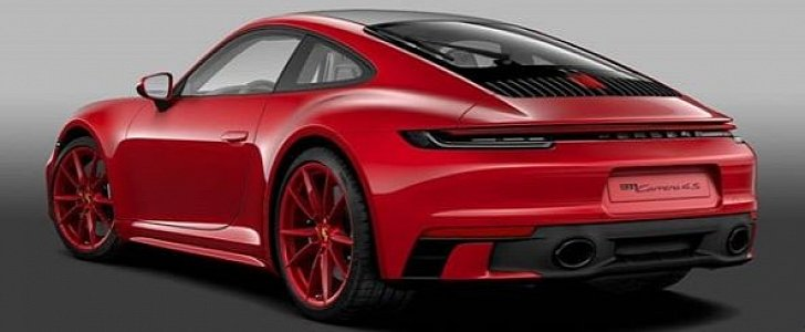 Carmine Red 2020 Porsche 911 with Sport Design Package ...