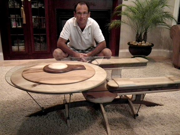 ... Craftsman Builds Astonishing Star Trek And Star Wars Tables ... Pictures