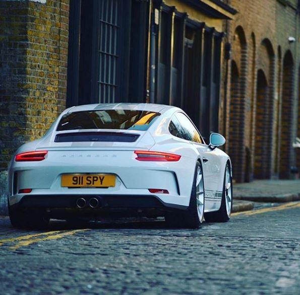 Carrara White 2018 Porsche 911 GT3 Touring Package Has ...