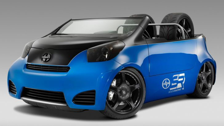 Cartel Pitt Boss Scion iQ Brings the Summer to 2011 SEMA [Photo Gallery]