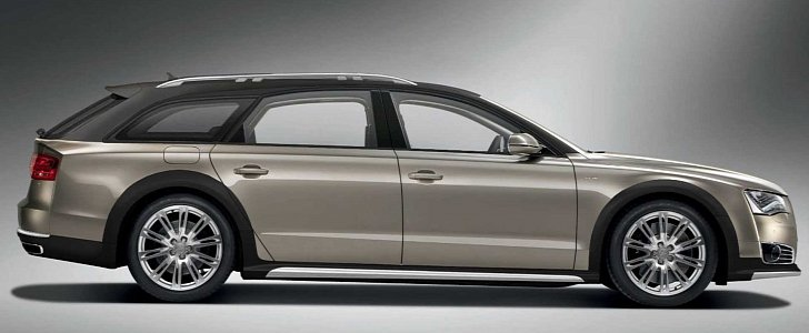 Castagna Milano Audi A8 Allroad W12 Is So Wrong That It Needs To Happen