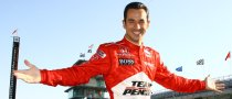 Castroneves on Indy 500 pole