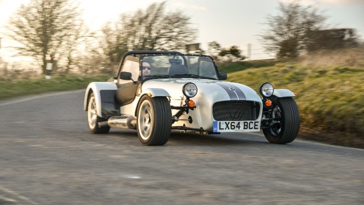 caterham seven range gets new 270 360 and 420 models
