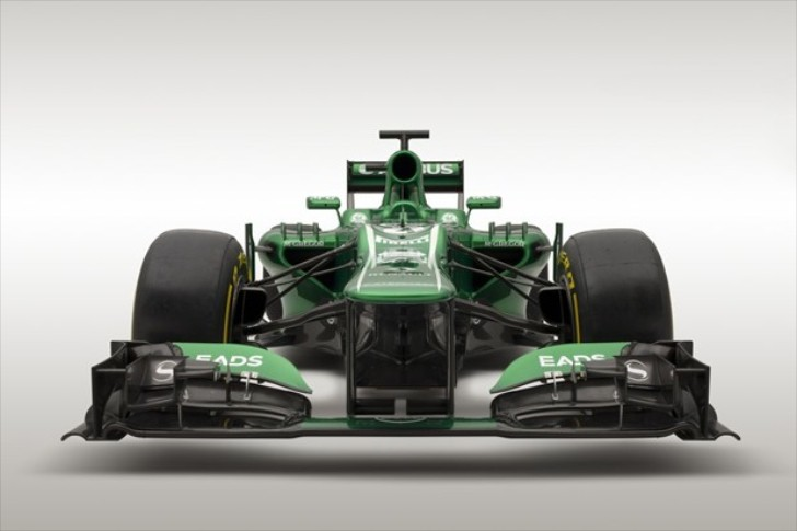 Caterham Shows 2013 Formula 1 Car [Video][Photo Gallery]