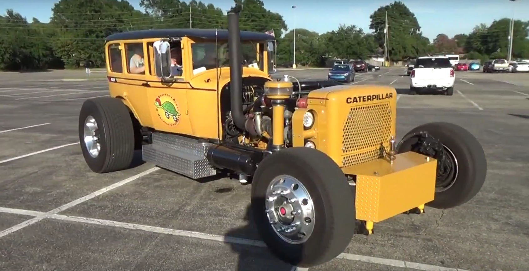 Caterpillar Hot Rod By Snapper Is Built On A Large Scale