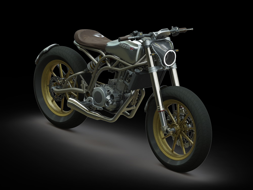 CCM Motorcycles Reveals New Spitfire Flat-Tracker ...