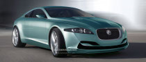 CGI: Jaguar Small Coupe