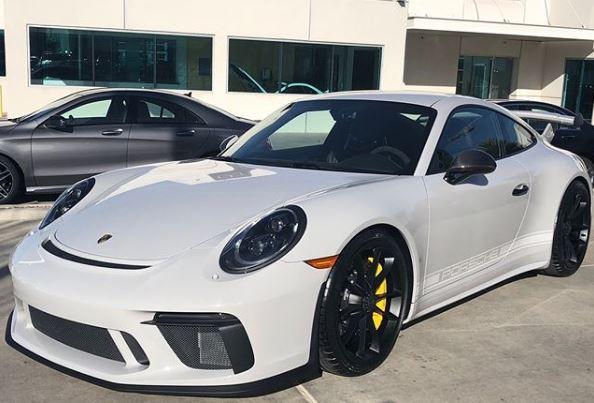 Chalk 2018 Porsche 911 GT3 Has