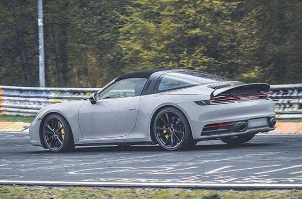 Chalk 2020 Porsche 911 Targa Looks Sensational Autoevolution