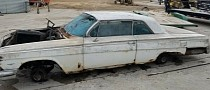 Challenge of the Day: Find the Chevrolet Impala Under This Big Blanket of Rust