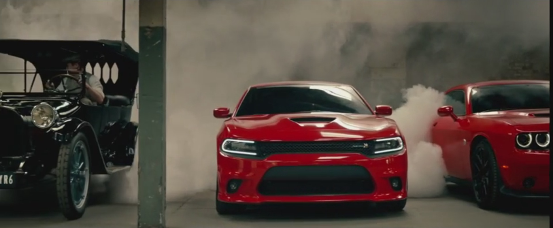 Challenger Hellcat and Charger Hellcat Meet 1914 Dodges