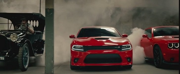 Dodge Ice Charger >> Challenger Scat Pack, Charger Scat Pack Meet 1914 Dodges: No Dodge Ad Without a Burnout ...