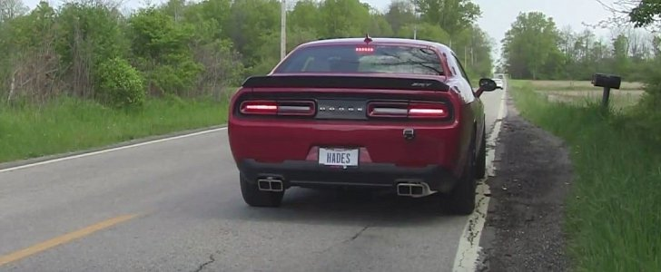 Challenger Hellcat Gets Corsa Cat Back Exhaust Keeps