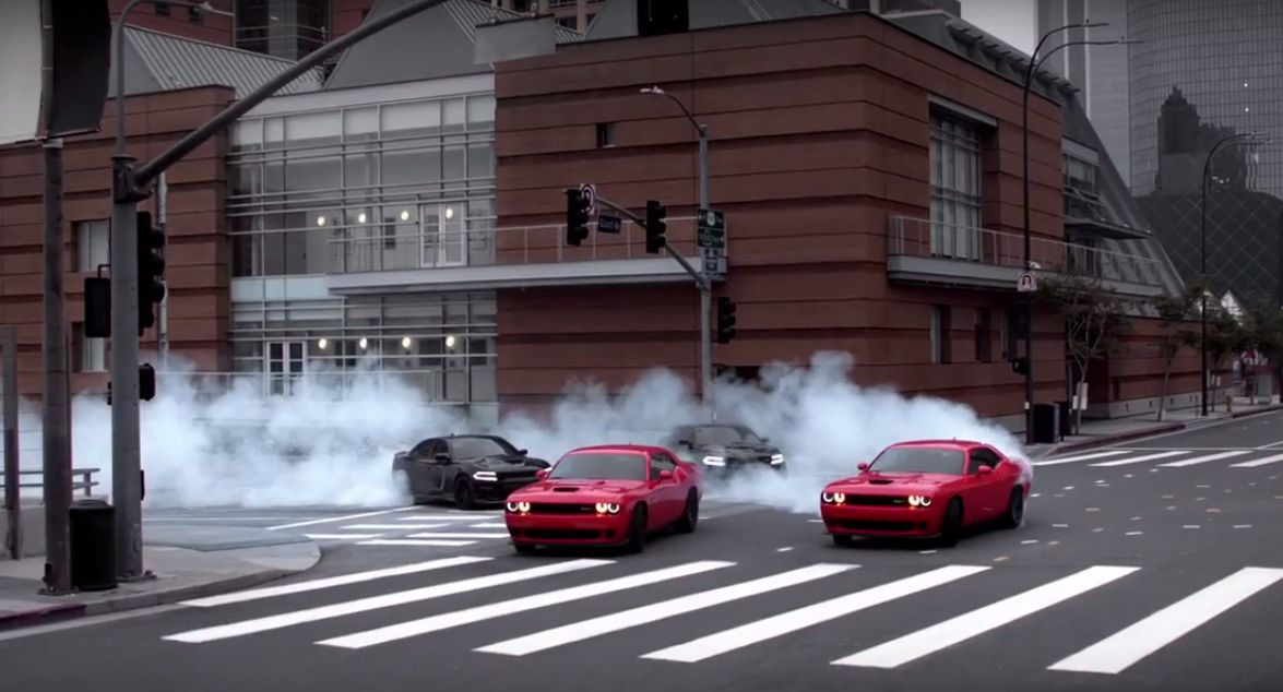 dodge drift challenger charger ad hellcats latest autoevolution