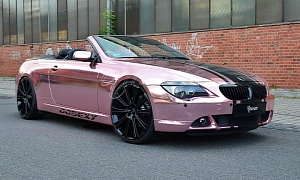 Champagne Pink BMW 6 Series by Unicate