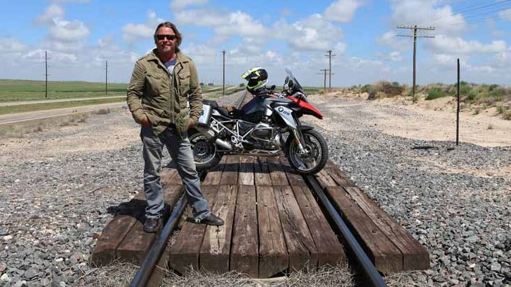 Charley Boorman Completes North American BMW Adventure