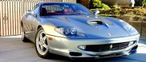 Charlie Sheen's Former Ferrari 550 Maranello Up for Grabs on eBay