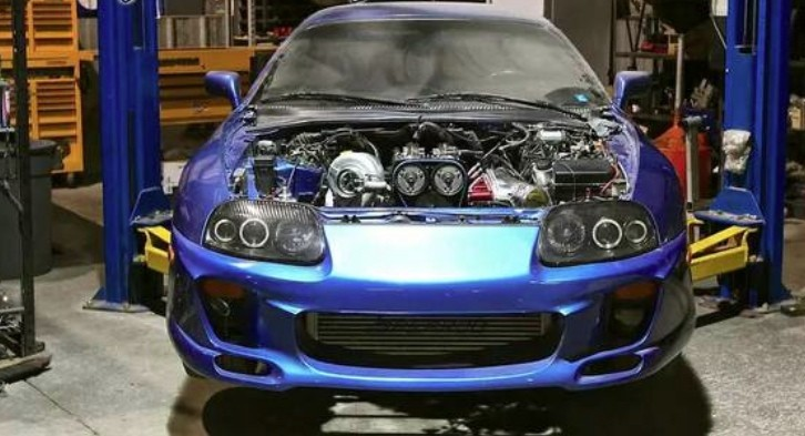cheap 800 hp toyota supra project for sale autoevolution. Black Bedroom Furniture Sets. Home Design Ideas