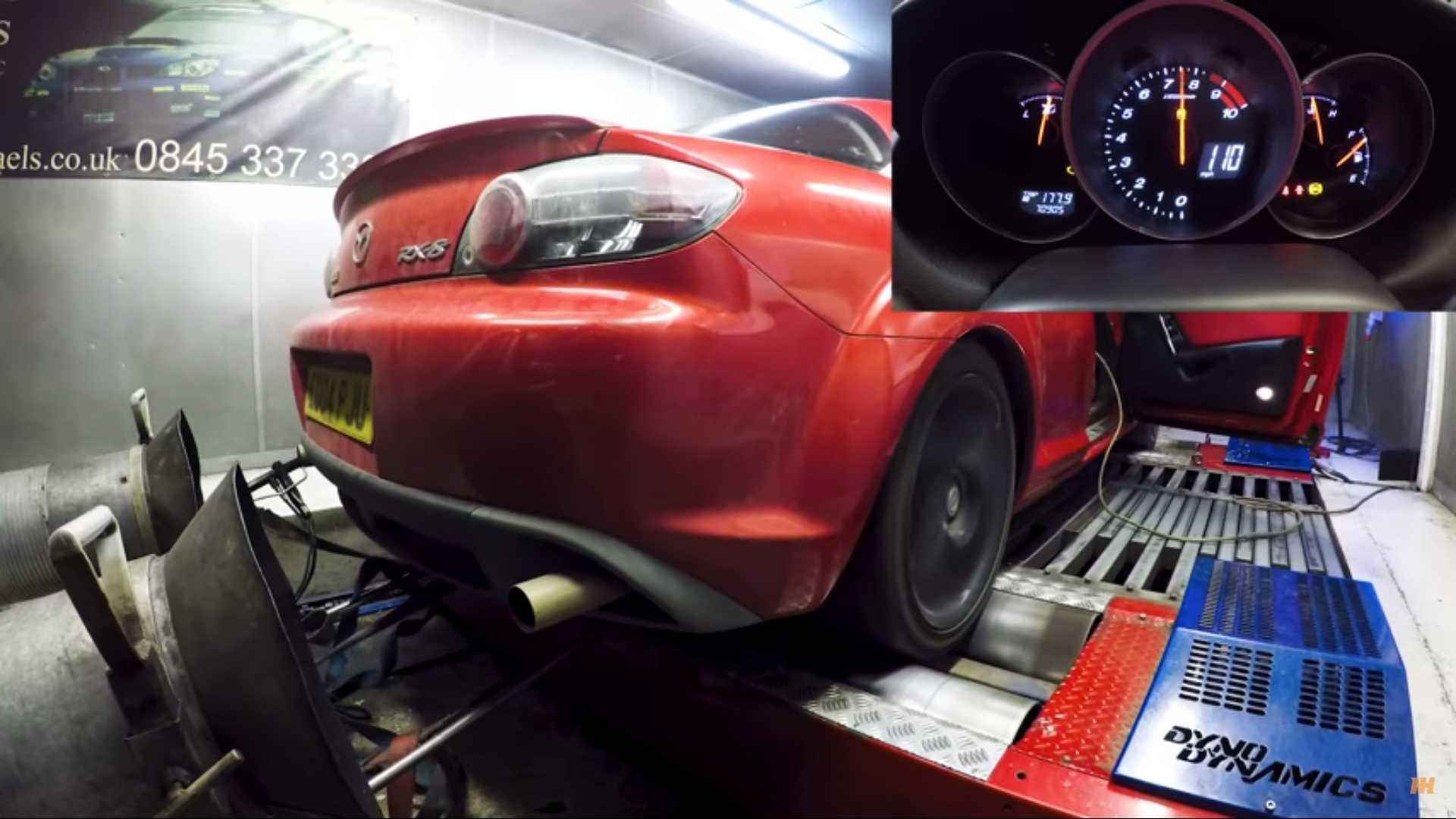 Cheap Mazda RX-8 Dyno Test Shows