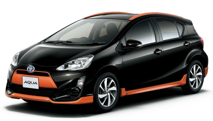 Check Out Japan S New Toyota Prius C X Urban Micro