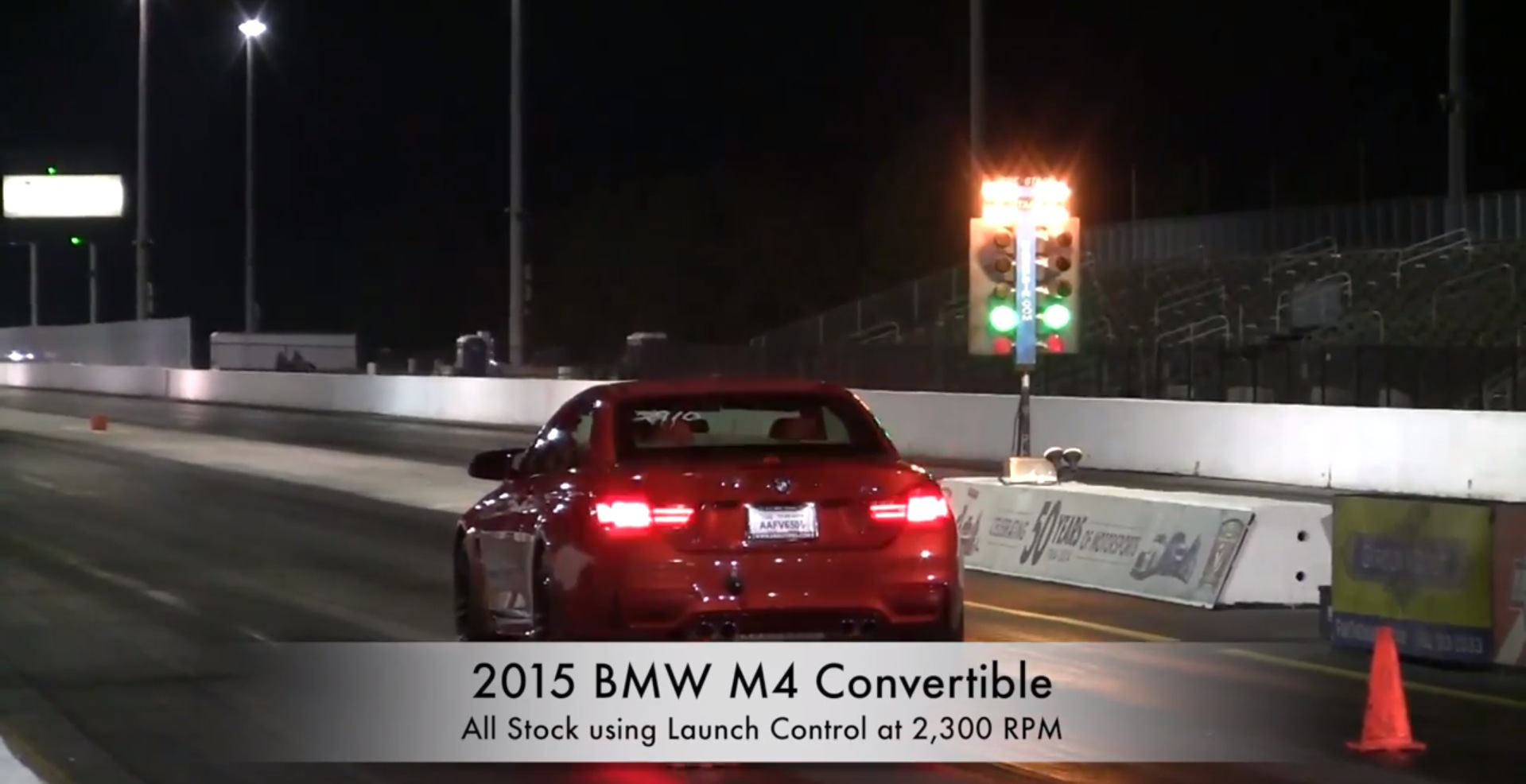 check out the bmw m4 convertible running 12.2 quarter mile at