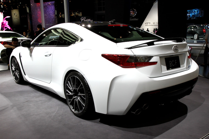 Lexus Rc F Carbon On Display At The Beijing Auto Show