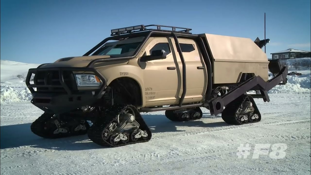check out the rock 39 s ice ram mattracks with from fast 8 autoevolution. Black Bedroom Furniture Sets. Home Design Ideas