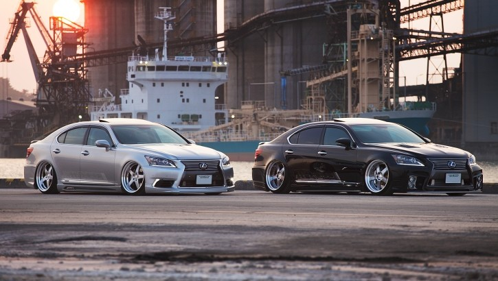 Check Out These VIP Lexus LS 460 Twins [Video][Photo Gallery]