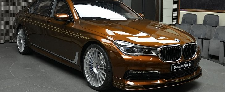 Chestnut Bronze Alpina B7 Bi Turbo Has Matching Brown