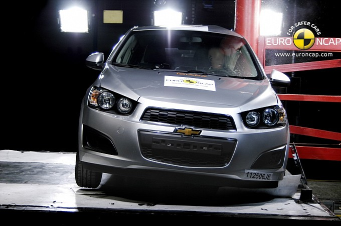 Chevrolet Aveo Gets Five Stars From Euro Ncap Autoevolution