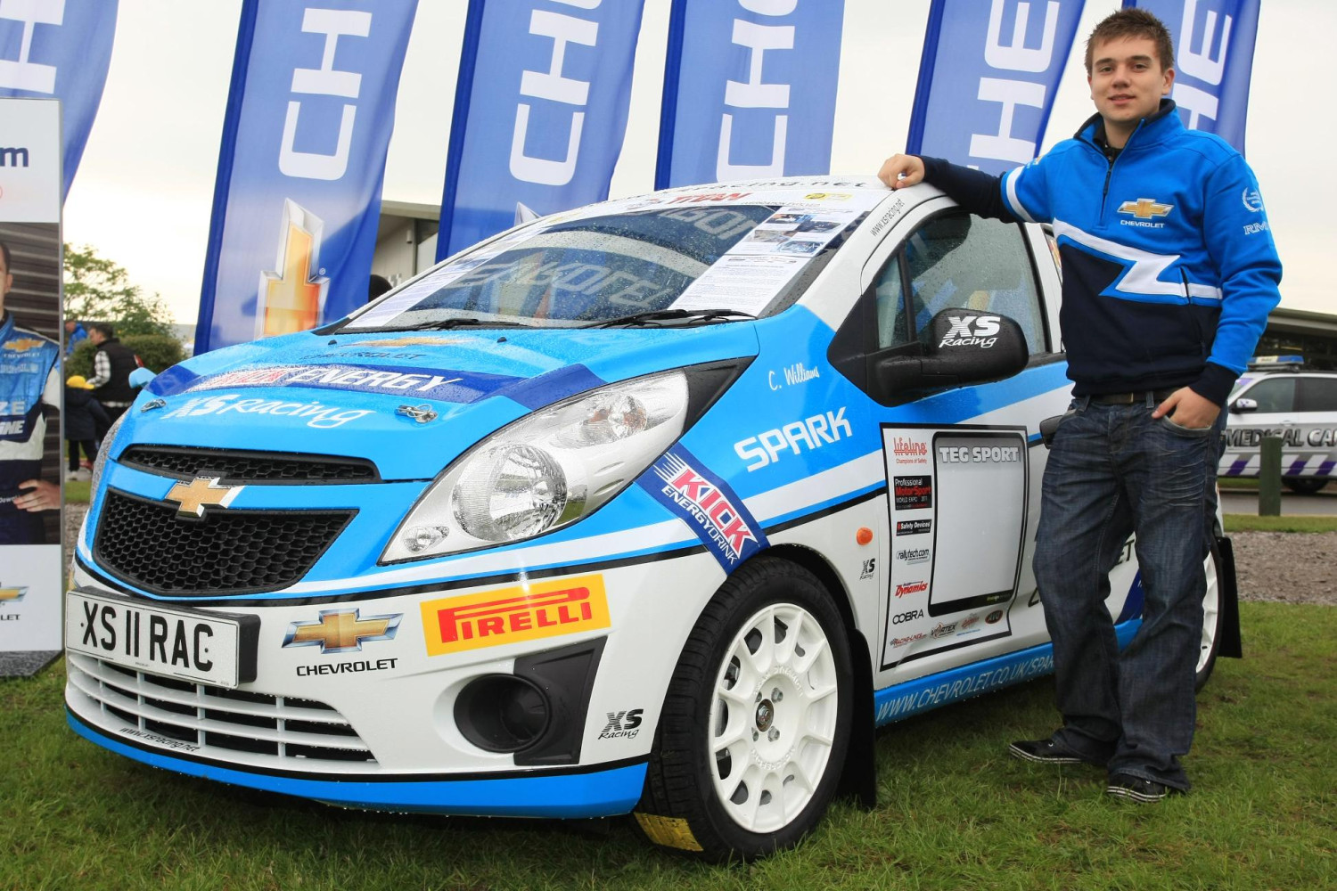Chevrolet Backing Youngest Works Rally Driver Ever - autoevolution